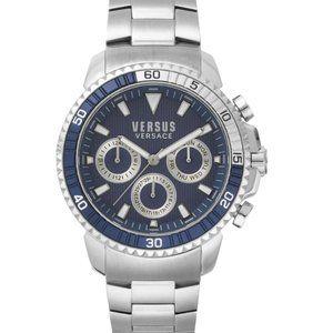 Versace Versus Silver 45mm Watch
